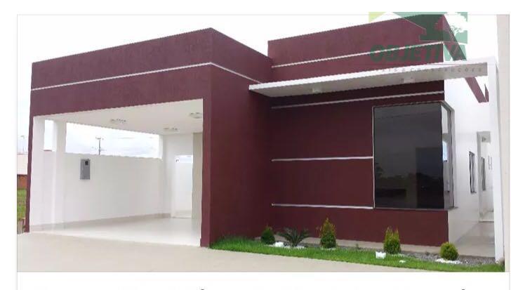 Casa residencial à venda, no Residencial Jardim Europa, Marabaixo, Macapá.