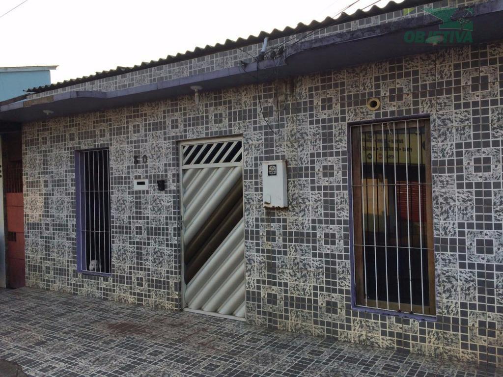Casa residencial à venda, Buritizal, Macapá.