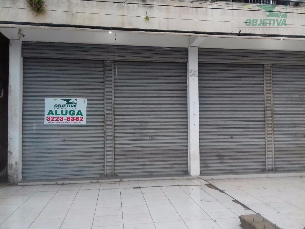 Ponto comercial para locação, Central, Macapá.