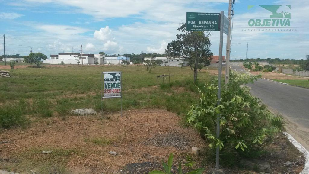 Terreno  residencial à venda, Loteamento Jardim Europa, Marabaixo, Macapá.