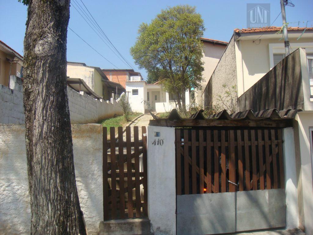 Terreno  residencial à venda, Vila Francisco Matarazzo, Santo André.