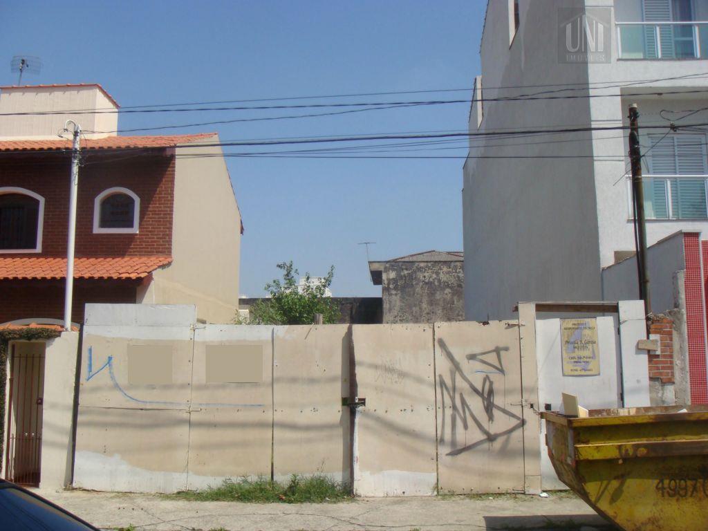 Terreno  residencial para locação, Vila Metalúrgica, Santo André.