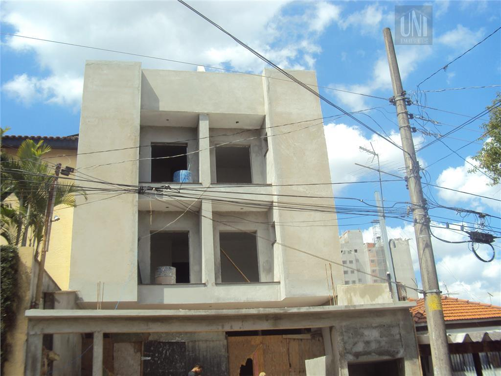 Cobertura residencial à venda, Campestre, Santo André - AP0470.