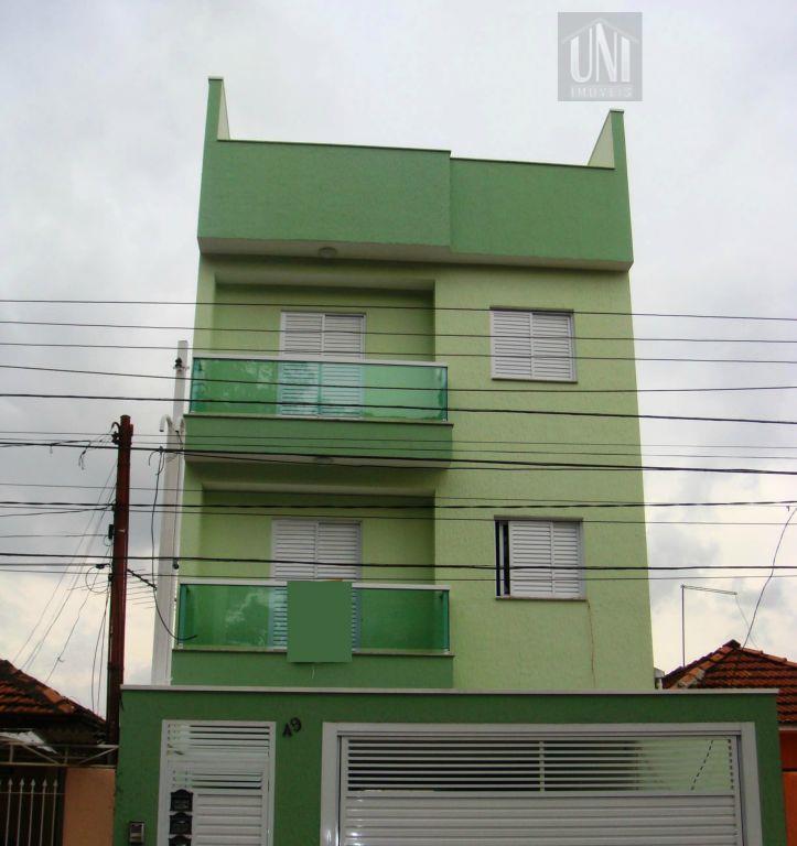 Apartamento  residencial à venda, Vila Metalúrgica, Santo André.
