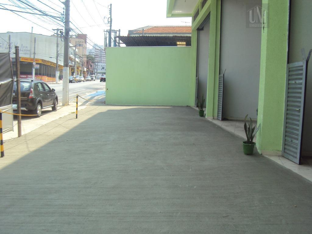 Salão  comercial para locação, Parque das Nações, Santo André.