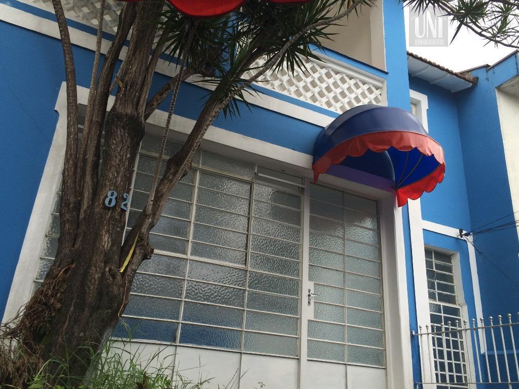 Sobrado comercial para locação, Vila Gomes Cardim, São Paulo.