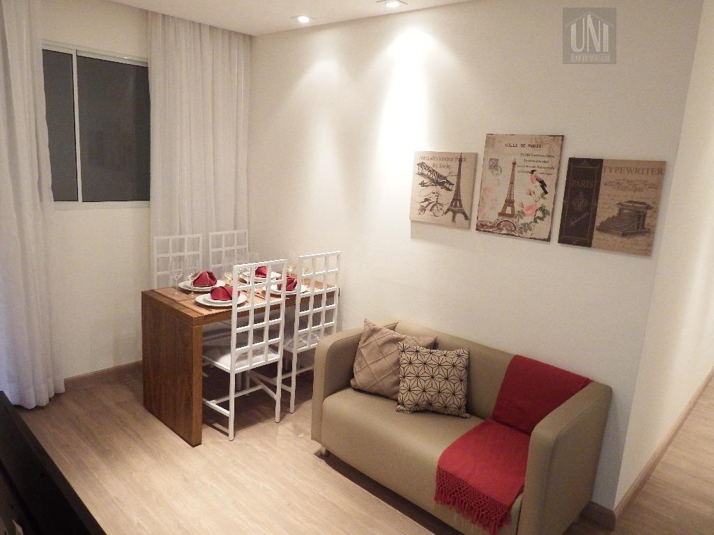 Apartamento residencial à venda, Jardim Bom Recanto, Mauá.