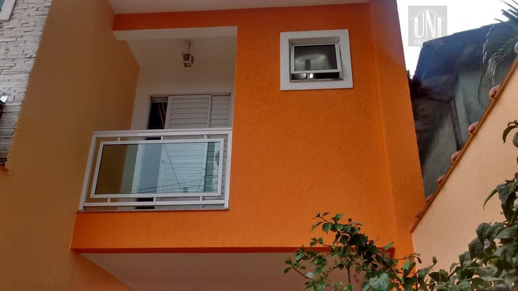 Sobrado residencial à venda, Parque Oratório, Santo André.