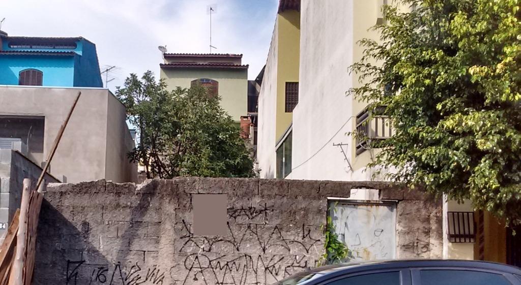 Terreno  residencial à venda, Parque João Ramalho, Santo André.