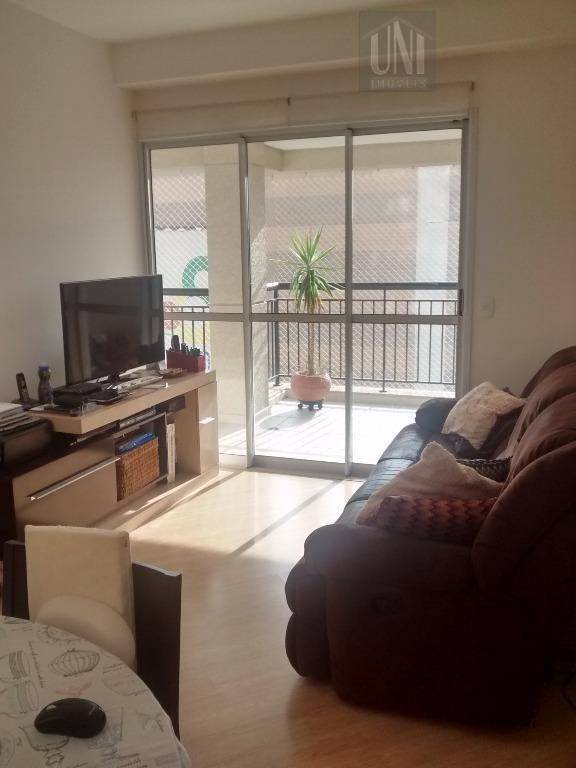 Apartamento residencial para locação, Paraíso, Santo André.