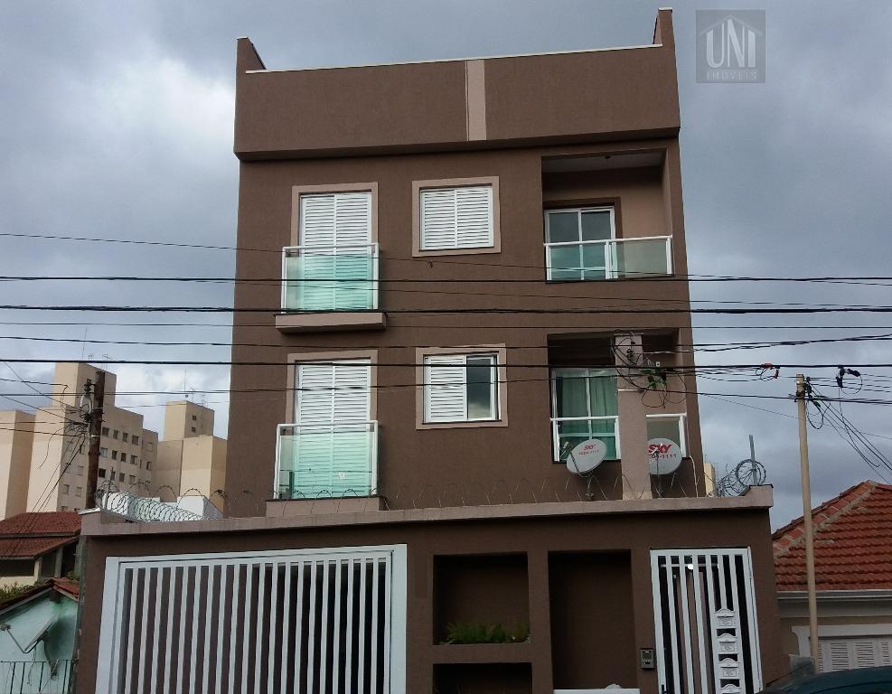 Cobertura residencial à venda, Vila Bartira, Santo André.
