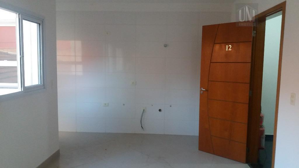 Cobertura residencial à venda, Campestre, Santo André - CO0629.