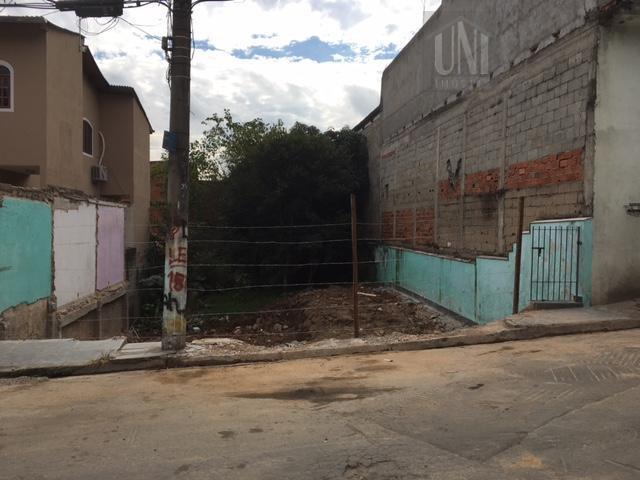 Terreno residencial à venda, Vila Esmeralda, Jandira.