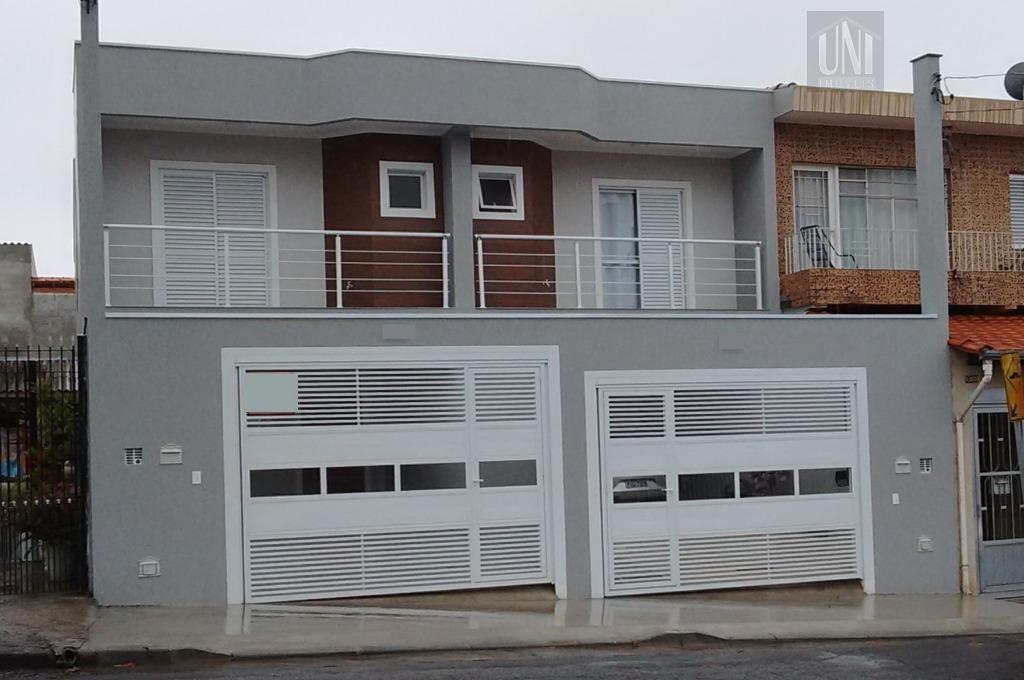 Sobrado residencial para locação, Parque Erasmo Assunção, Santo André.