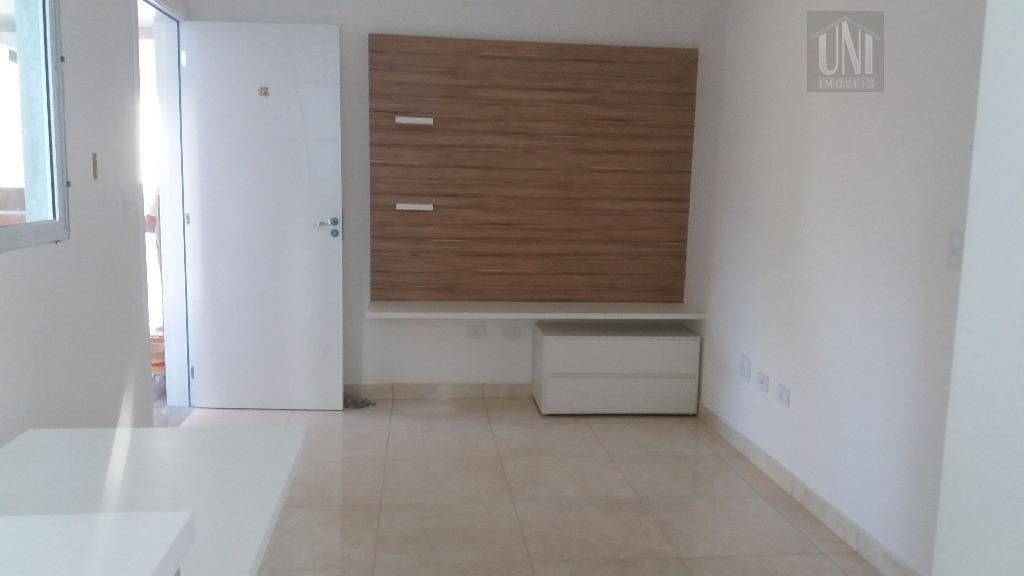 Apartamento residencial à venda, Vila Sacadura Cabral, Santo André.
