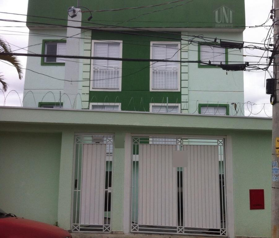 Apartamento residencial para locação, Vila Príncipe de Gales, Santo André.