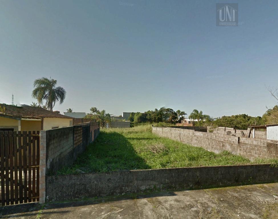 Terreno residencial à venda, Jardim Beira Mar, Peruíbe.