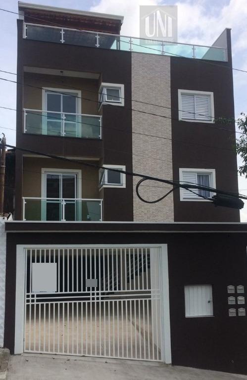 Cobertura residencial à venda, Santa Maria, Santo André.
