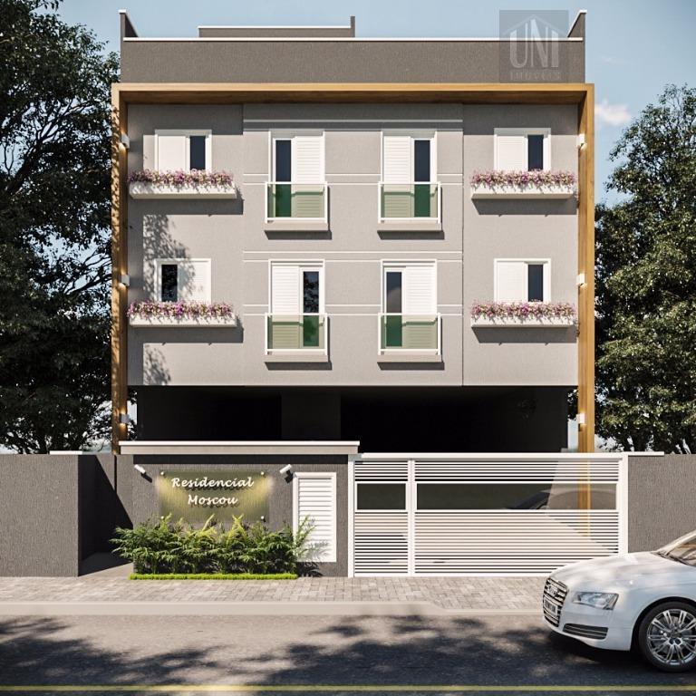 Cobertura residencial à venda, Jardim do Estádio, Santo André.