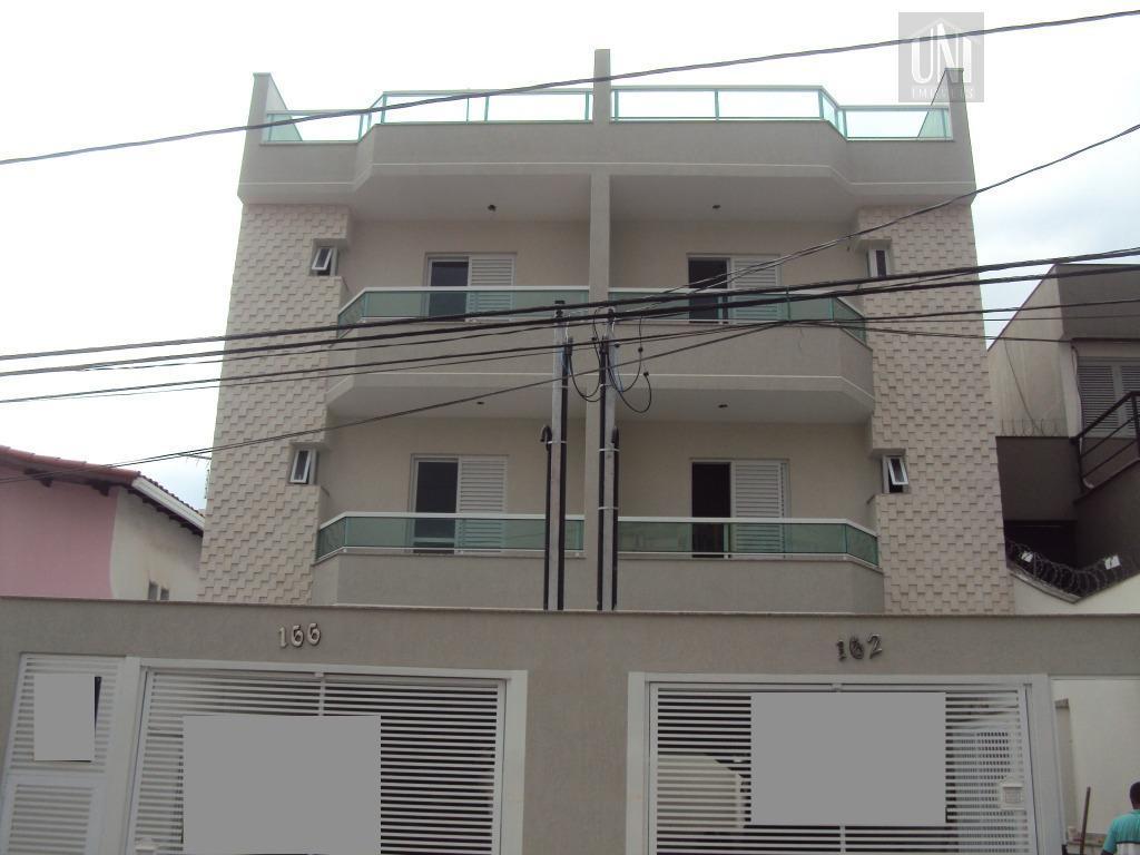 Cobertura residencial à venda, Bairro Jardim, Santo André.