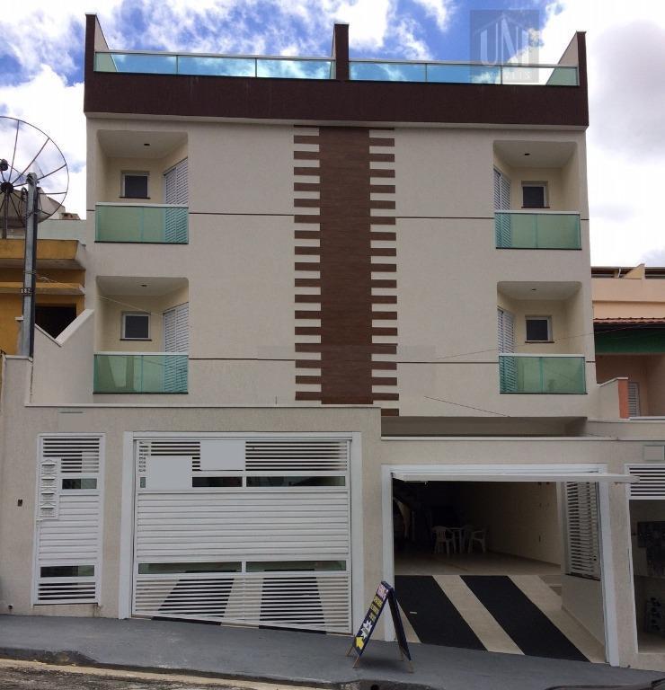 Cobertura residencial à venda, Parque Oratório, Santo André.