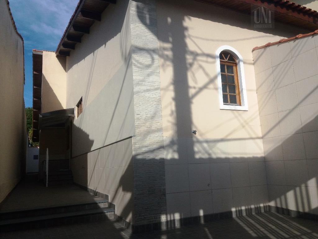 Sobrado residencial para locação, Parque das Nações, Santo André.
