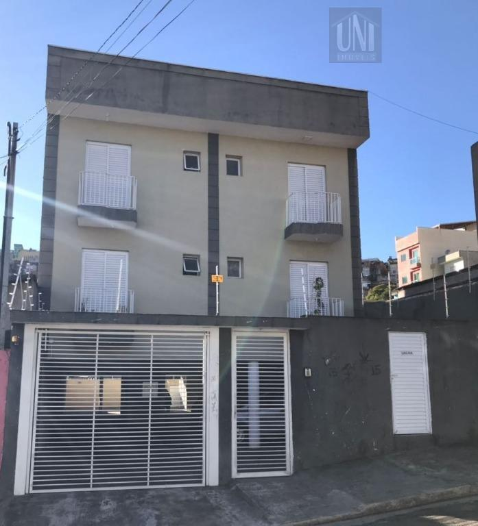 Apartamento residencial à venda, Vila Suíça, Santo André.