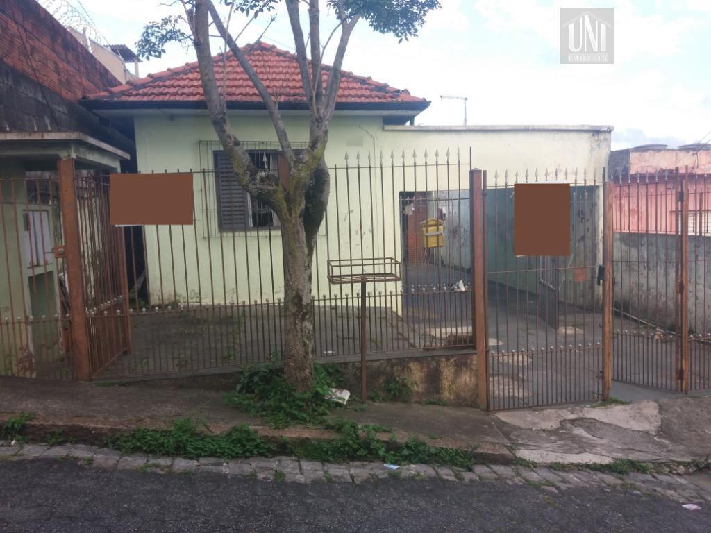 Terreno residencial à venda, Vila Alto de Santo André, Santo André.
