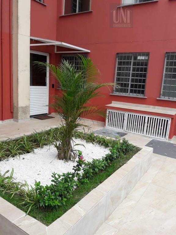 Apartamento residencial à venda, Jardim Paranavaí, Mauá.