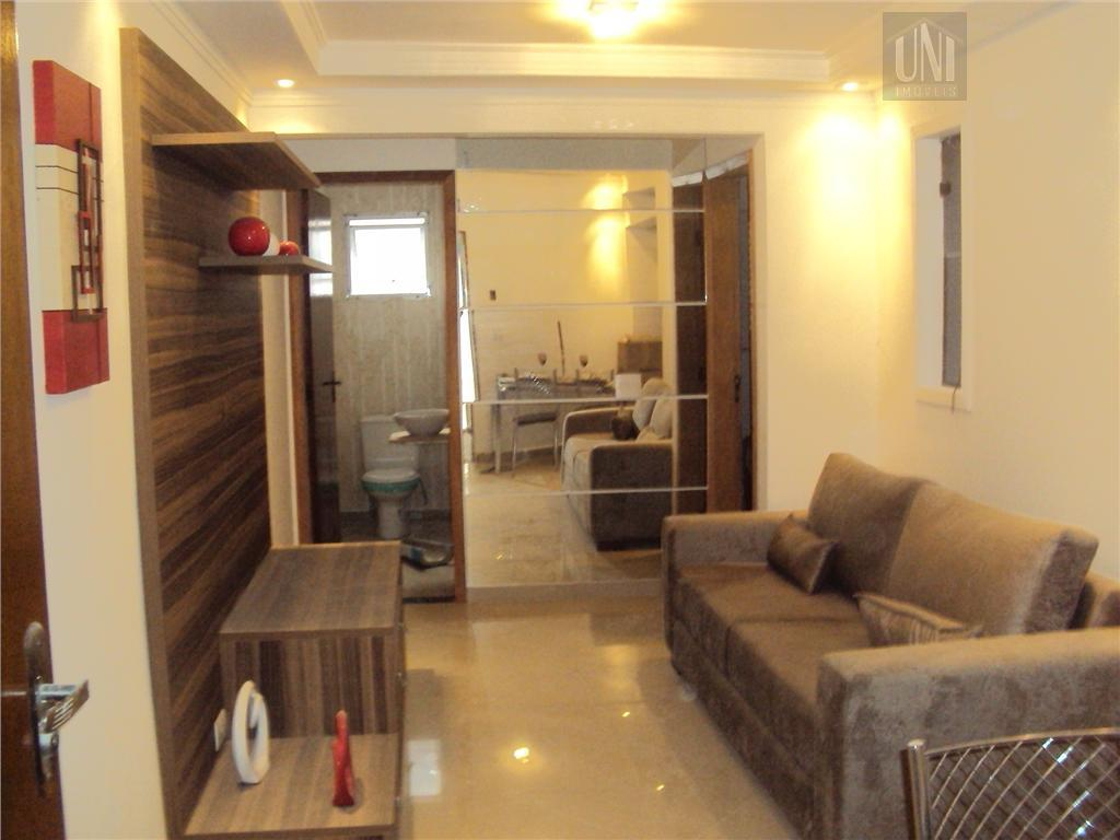 Apartamento  residencial à venda, Parque das Nações, Santo André.