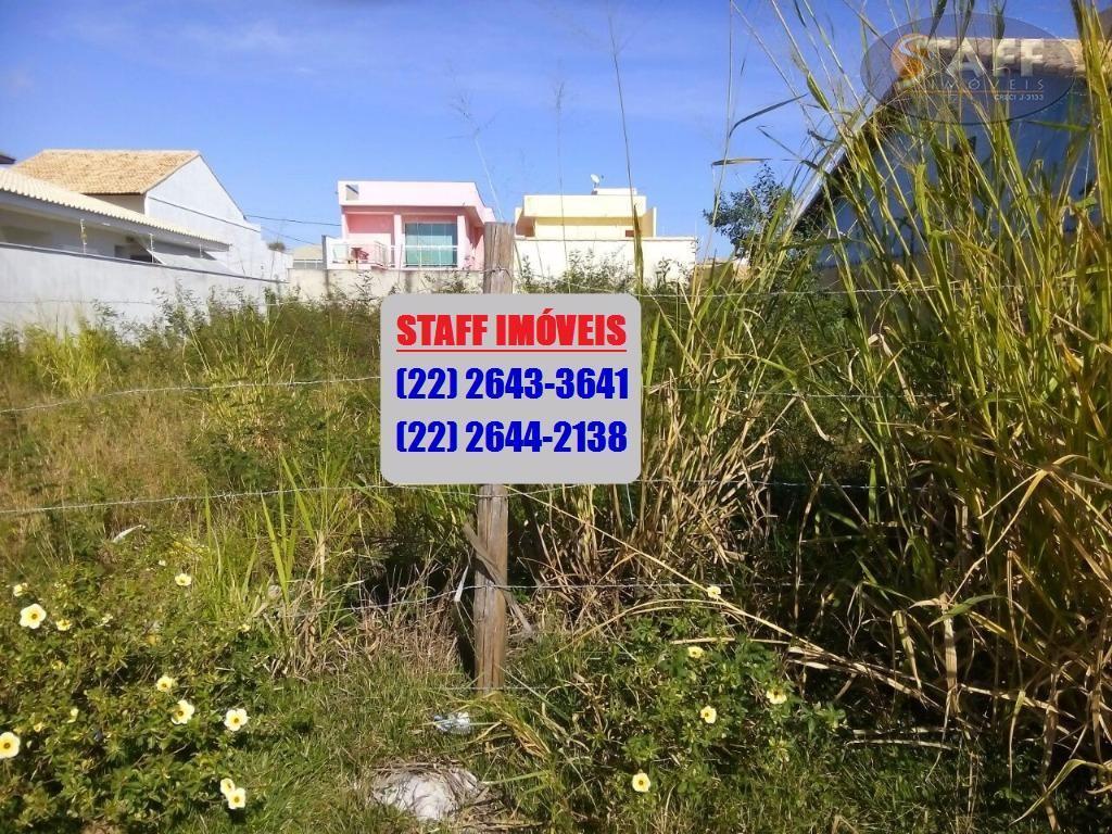 Terreno residencial à venda, Novo Portinho, Cabo Frio.