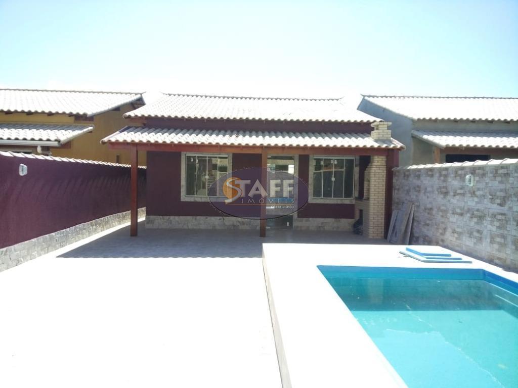 Casa 2 quartos com suite e piscina à venda, Unamar, Cabo Frio.