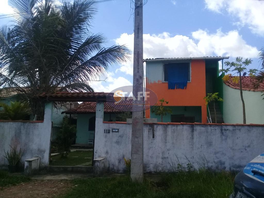 3 casas em unamar - 2° distrito de cabo frio.1° imóvel composto por;- 2 quartos- sala-...