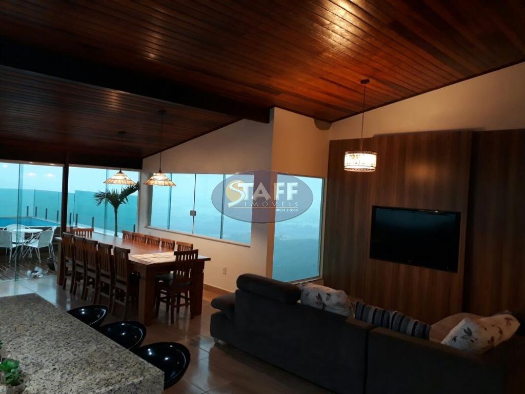 maravilhosa casa de 5 quartos, sendo 4 suítes e uma linda vista para praia - bosque...