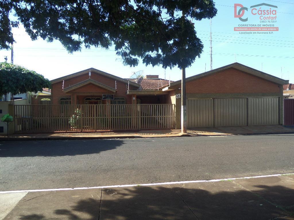 Casa residencial à venda, Jardim Bandeirantes, Ituverava.