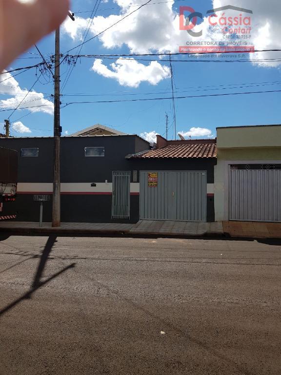 Casa residencial à venda, Centro, Ituverava.