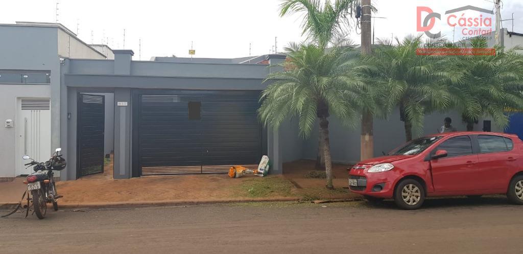 Casa com 3 dormitórios à venda por R$ 550.000 - Cidade Universitaria - Ituverava/SP
