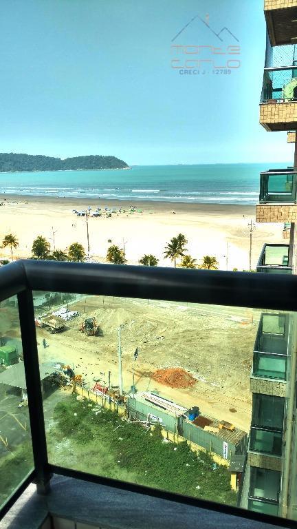 Apartamento residencial para venda e locação, Vila Guilhermina, Praia Grande - AP0504.