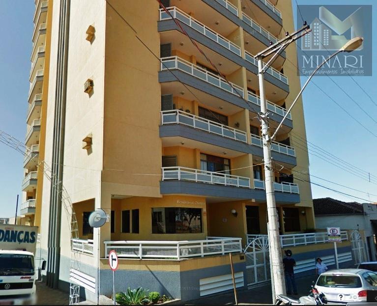 Apartamento residencial à venda, Centro, Olímpia.