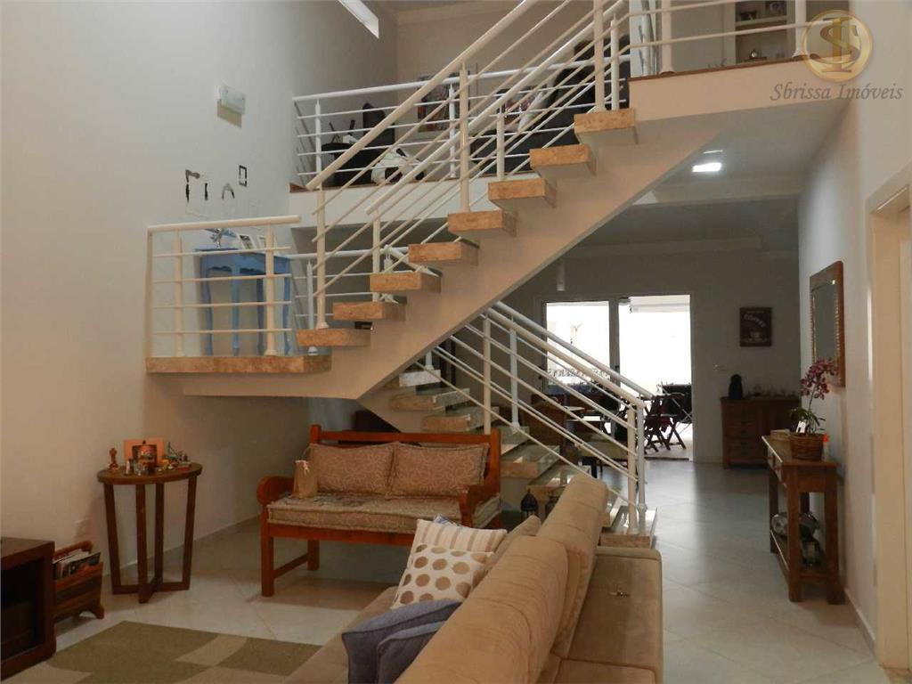 Casa residencial à venda, Condomínio Parque do Varvito, Itu - CA0502.