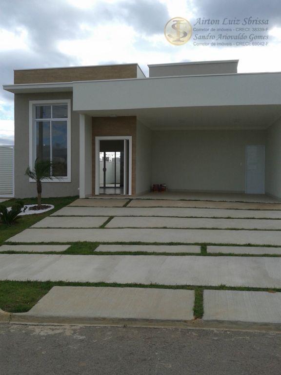 Casa residencial à venda, Condomínio Central Park, Salto - CA0532.