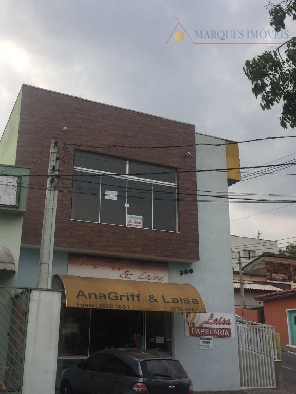 Sala comercial para locação, Vila Nova Louveira, Louveira.