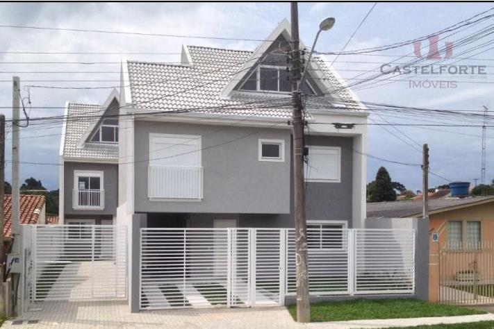 Sobrado residencial à venda, Abranches, Curitiba.