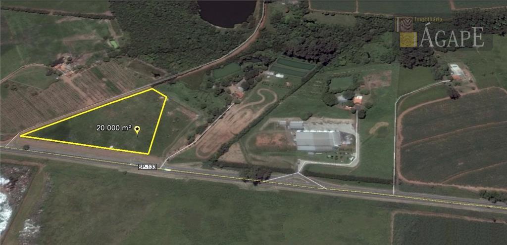 Área Industrial com 236,87 metros de frente para a Rodovia SP 133 - Cosmópolis