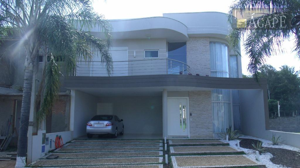 Sobrado residencial à venda, Condomínio San Marino, Artur Nogueira.