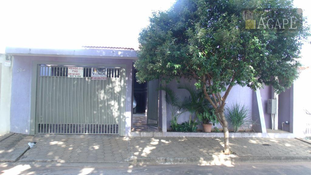 Casa residencial à venda, Parque Residencial Bom Jardim, Artur Nogueira.