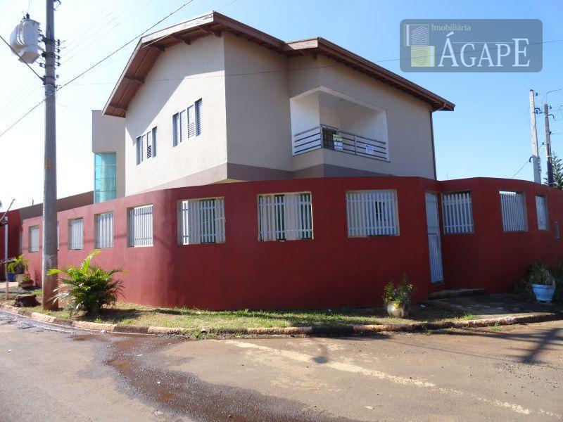 Sobrado  residencial à venda, Jardim Conservani, Artur Nogueira.