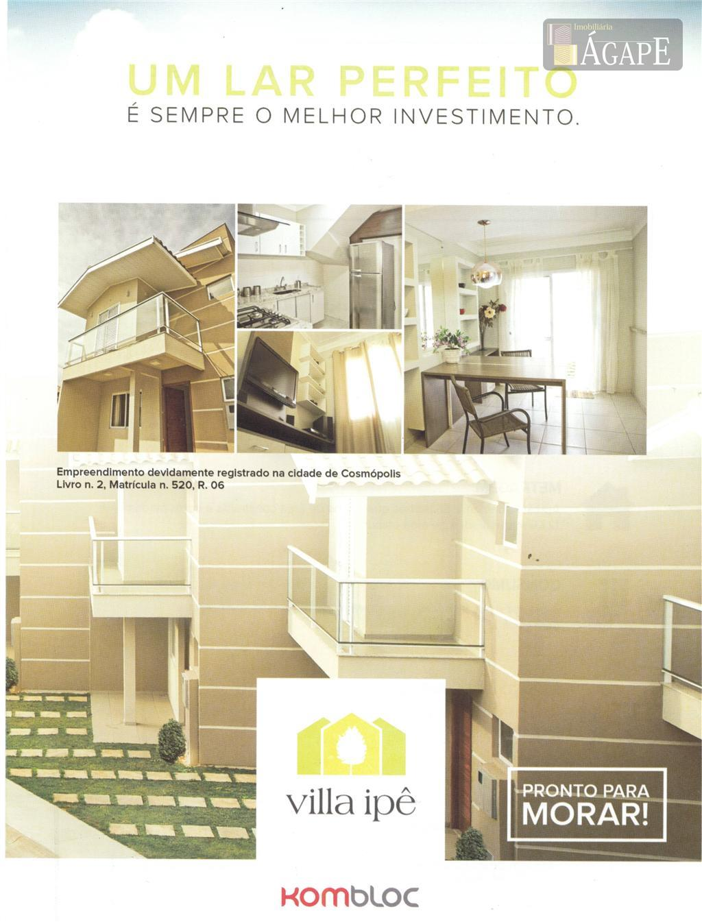 Sobrado residencial à venda, Bela Vista IV, Cosmópolis.