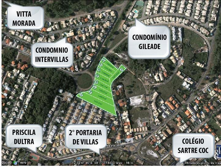 Terreno residencial à venda, Miragem, Lauro de Freitas.