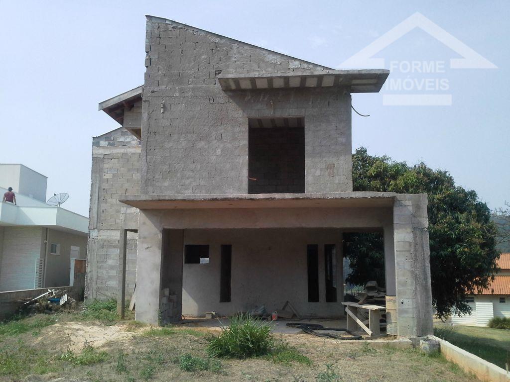 Casa em construção no Condomínio Reserva dos Vinhedos